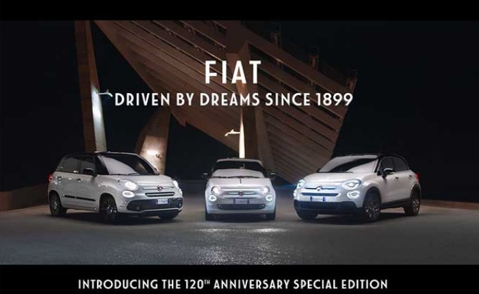 FIAT 500X 120° – Pronta Consegna