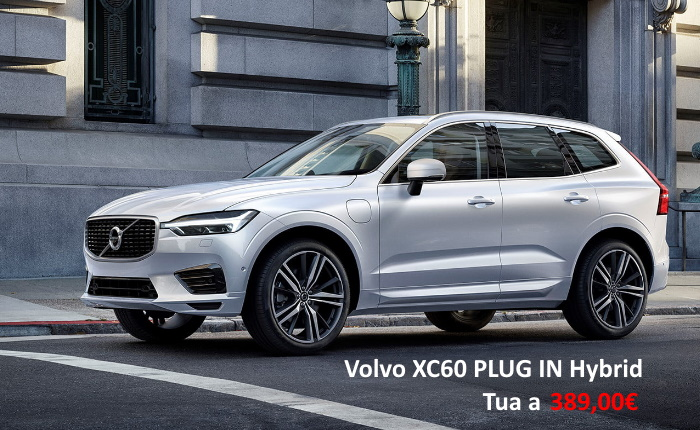 VOLVO XC60 PLUG-IN HYBRID – PROMO NOLEGGIO