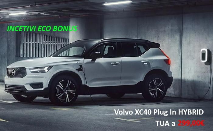 VOLVO XC40 PLUG-IN HYBRID – PROMO NOLEGGIO