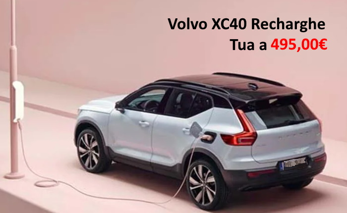 VOLVO XC40 RECHARGE – PROMO NOLEGGIO